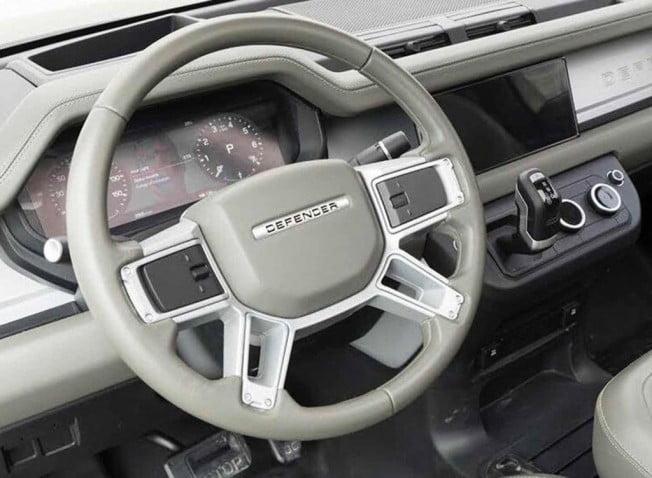 Nuevo Land Rover Defender interior