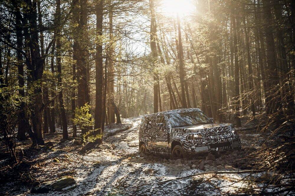 Nuevo Land Rover Defender pruebas