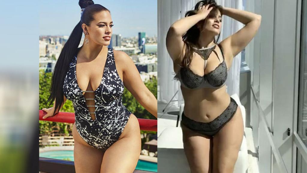 Ashley Graham la modelo con muchas curvas