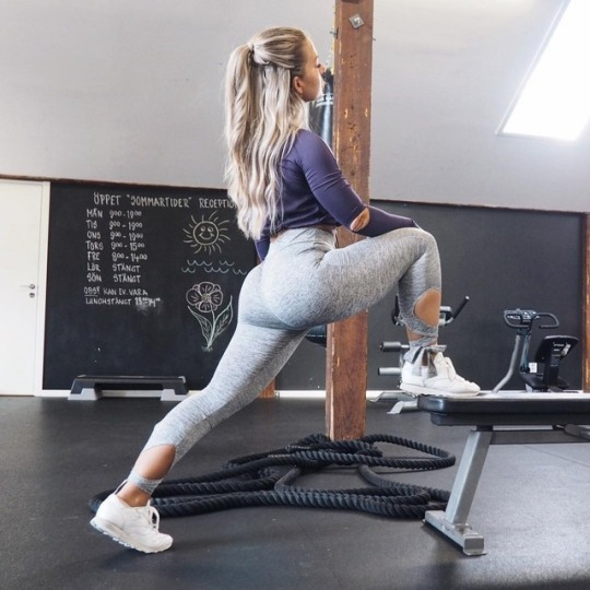 Inspiración para el gimnasio con las chicas más fit