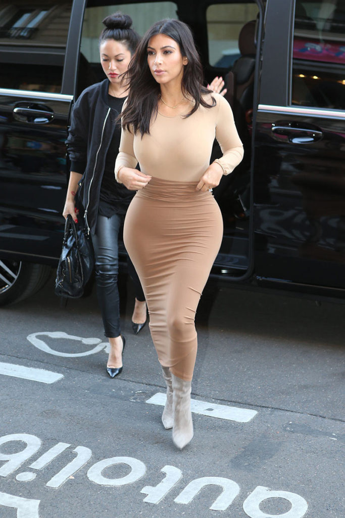 La bella Kim Kardashian