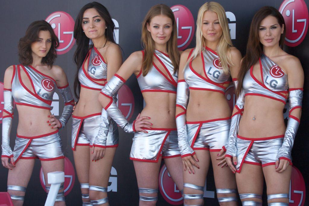 Las mejores Grid Girls de los últimos años